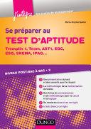 Pdf Se préparer au test d'aptitude - Tremplin 1, Team, AST1, EDC, ESG, SKEMA Telecharger