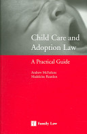 Child Care And Adoption Law