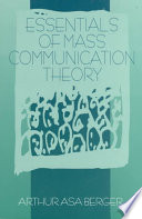 Essentials Of Mass Communication Theory