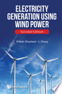 Electricity Generation Using Wind Power  Second Edition