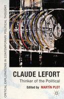 Claude Lefort Pdf/ePub eBook