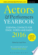 Actors And Performers Yearbook 2016