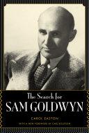 The Search for Sam Goldwyn Pdf/ePub eBook