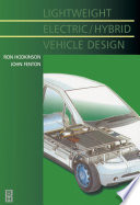 Lightweight Electric Hybrid Vehicle Design Book PDF