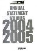 RMA Annual Statement Studies  2004 2005