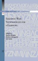 Semantic Web Technologies for E-learning