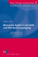 Mezzanine-Kapital in der HGB- und IFRS-Rechnungslegung