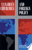 Canadian Churches and Foreign Policy