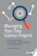 Managing Your Data Science Projects