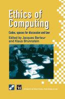 Ethics of Computing