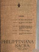 Philippiniana Sacra Book