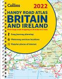 2022 Collins Handy Road Atlas Britain  A5 Spiral