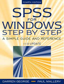 Cover of SPSS for Windows Step by Step