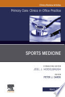 Sports Medicine  An Issue of Primary Care  Clinics in Office Practice  E Book