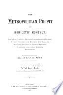 The Metropolitan Pulpit