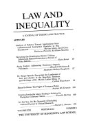 Law Inequality