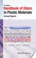 Handbook Of Odors In Plastic Materials Book PDF