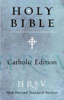 NRSV, Catholic Edition Bible, eBook Pdf/ePub eBook