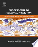 Sub seasonal to Seasonal Prediction