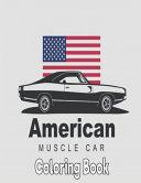 American Muscle Car Coloring Book