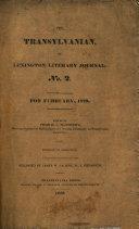 Transylvanian, Or Lexington Literary Journal