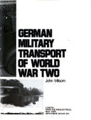 German Military Transport of World War Two