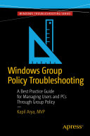 Pdf Windows Group Policy Troubleshooting Telecharger
