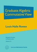 Graduate Algebra