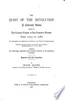 The Diary of the Revolution Book