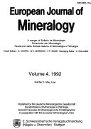 European Journal of Mineralogy