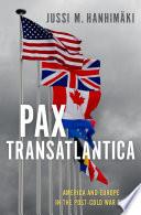 Pax Transatlantica Book