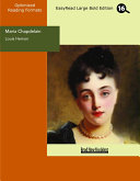 Maria Chapdelain (EasyRead Large Bold Edition)
