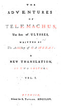 Pdf The Adventures of Telemachus, the Son of Ulysses