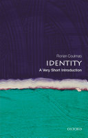 Identity  A Very Short Introduction