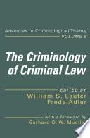 The Criminology of Criminal Law