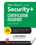 Mike Meyers Comptia Security Certification Passport Sixth Edition Exam Sy0 601