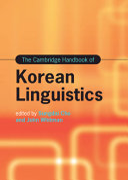 The Cambridge Handbook of Korean Linguistics