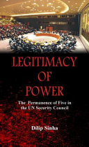 Legitimacy of Power Book