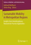 Sustainable Mobility in Metropolitan Regions
