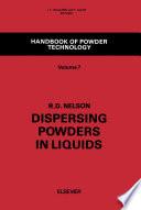 Dispersing Powders in Liquids Book