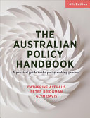 Cover of The Australian Policy Handbook