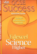 GCSE Edexcel Science Higher Success Revision Guide