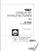 Census of Manufactures  1967  Vol  3 Area Statistics Book