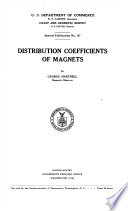 Distribution Coefficients of Magnets Book