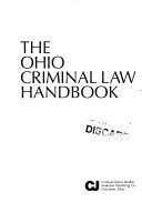 The Ohio Criminal Law Handbook