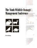 Proceedings of the     Eastern Wildlife Damage Control Conference