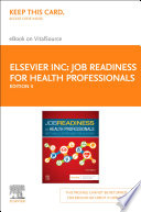 """Job Readiness for Health Professionals E-Book: Soft Skills Strategies for Success"" by Elsevier"