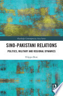 Sino Pakistani Relations