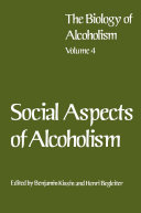 Pdf Social Aspects of Alcoholism Telecharger