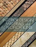 Pdf Interior Design Materials and Specifications